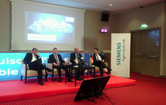 Vue de la rencontre organisée hier par Siemens Algérie (ph.: H. Ghoualmi/Maghreb Emergent).