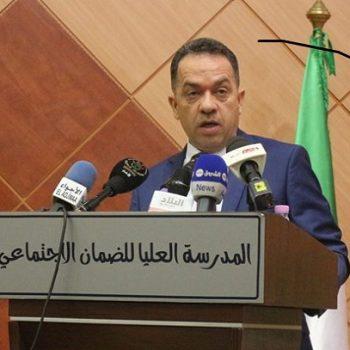 Le ministre du Travail, de l'Emploi et de la Sécurité sociale, Mourad Zemal