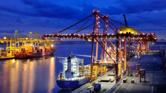 Photo d'un port