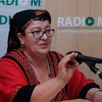 Malika Matoub soeur de Matoub Lounes