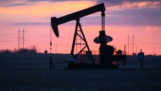 Photo puits de petrole