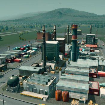Photo zone industrielle