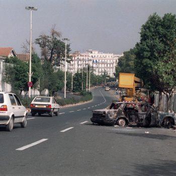 Image voiture calcinée