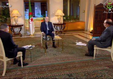 Tebboune : «10 millions d'algériens ont voté pour moi »
