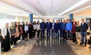 Kais Saied félicite le Groupe Telnet pour la conception du 1er satellite tunisien