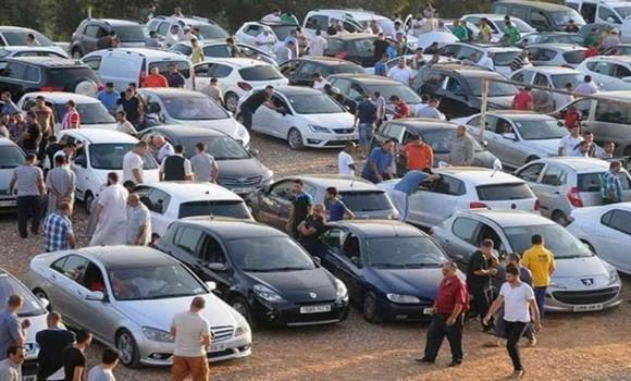 Le marché de véhicules d'occasion de Tidjelabine reprend du service