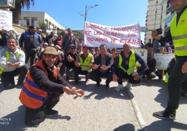 Ils ont manifesté aujourd'hui à Tizi Ouzou : le ras-le-bol des salariés du groupe ETRHB s'exprime désormais dans la rue