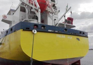 Carburants: Naftal réceptionne un nouveau navire caboteur-ravitailleur