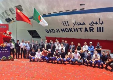 Transport maritime : l'ENTMV réceptionne le nouveau «Badji Mokhtar III»
