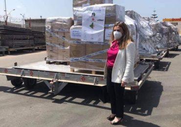 Covid-19 : 20 tonnes de matériel médical débarqués sur le tarmac de l'aéroport d'Alger